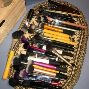 Other - Lot of Makeup Brushes - 51 Pieces!